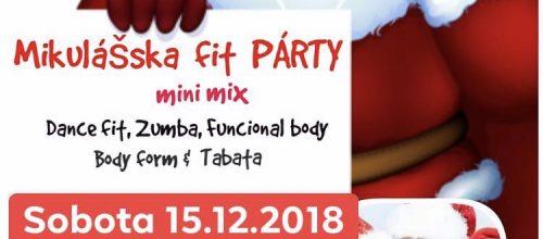Mikulášska FIT PÁRTY mini mix